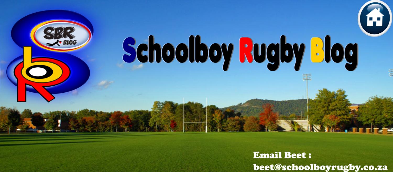 SchoolBoyRugby Blog
